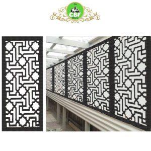 Istanbul – Australian Compressed Hardwood woodsman sealed charcoal Privacy Garden Screens Australian Made – 600 x 1200 mm – 9 mm