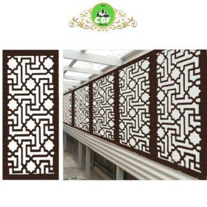 Istanbul – Australian Compressed Hardwood woodsman sealed jarrah Privacy Garden Screens Australian Made – 600 x 1200 mm – 9 mm