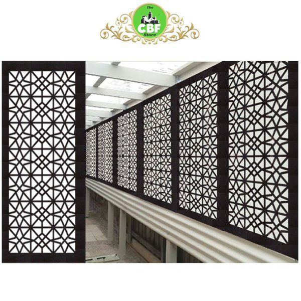 Venice Australian Compressed Hardwood smooth sealed charcoal Privacy Garden Screens Australian Made 600 x 1200 mm 9 mm