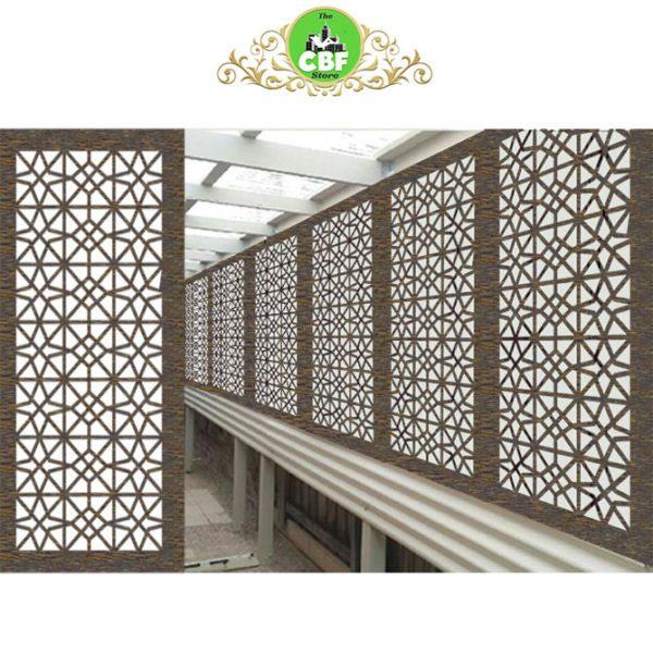 Venice Australian Compressed Hardwood woodsman raw Privacy Garden Screens Australian Made 600 x 1200 mm 9 mm
