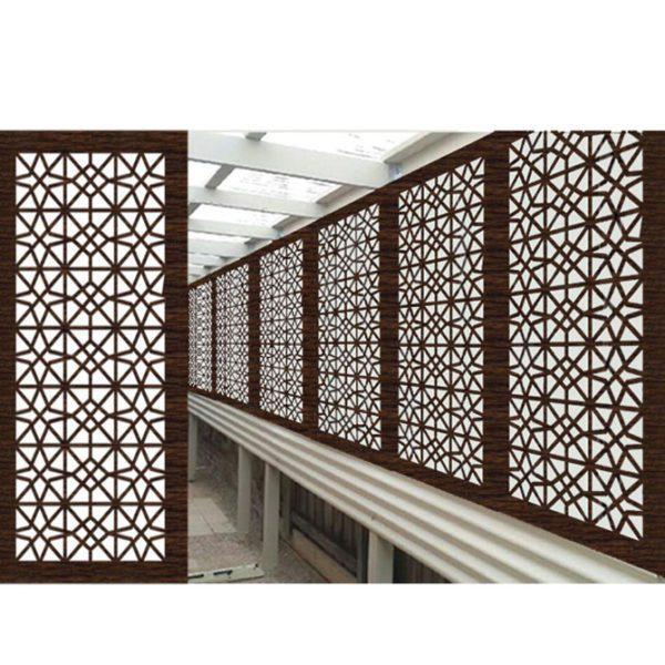 Venice Australian Compressed Hardwood woodsman sealed jarrah Privacy Garden Screens Australian Made 600 x 1200 mm 9 mm
