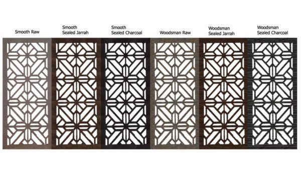 Washington – Australian Compressed Hardwood – Privacy Garden Screens Australian Made – 600 x 1200 mm – 9 mm all finishes