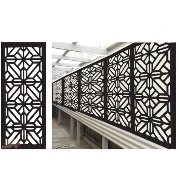 Washington – Australian Compressed Hardwood smooth sealed charcoal   Privacy Garden Screens Australian Made – 600 x 1200 mm – 9 mm