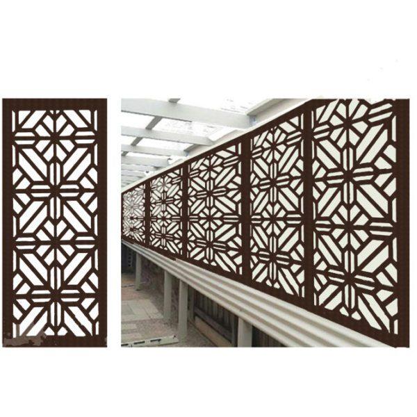 Washington – Australian Compressed Hardwood smooth sealed jarrah   Privacy Garden Screens Australian Made – 600 x 1200 mm – 9 mm
