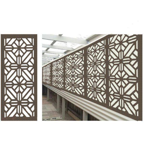 Washington – Australian Compressed Hardwood woodsman raw– Privacy Garden Screens Australian Made – 600 x 1200 mm – 9 mm