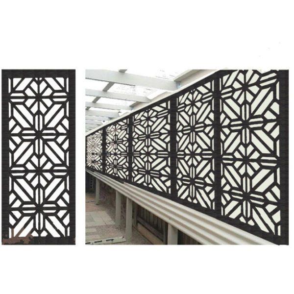 Washington – Australian Compressed Hardwood woodsman sealed charcoal– Privacy Garden Screens Australian Made – 600 x 1200 mm – 9 mm
